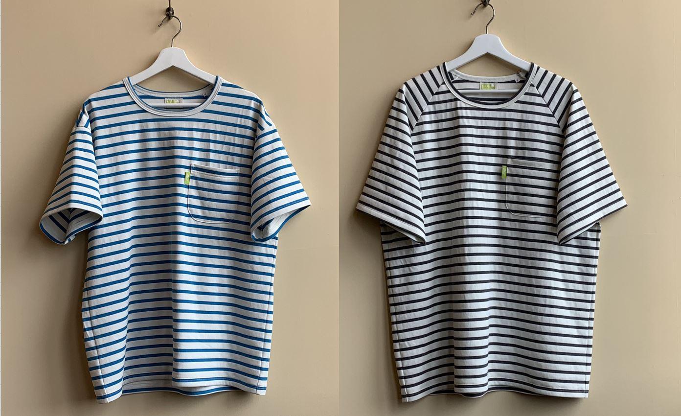 ボーダーTシャツ(レディース・メンズ フリーサイズ)
